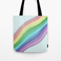 Rainbow Design  Tote Bag