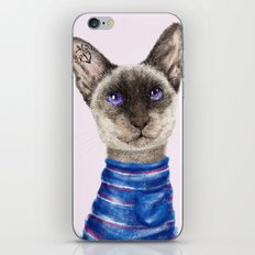 Siamese Cat iPhone & iPod Skin