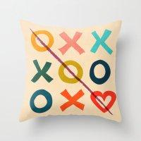 xoxo Love Throw Pillow