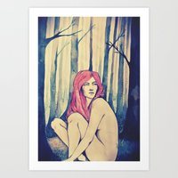 Can You Hear The Trees T… Art Print