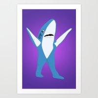 Left Shark Art Print