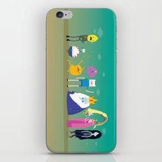 Adventure time characters iPhone & iPod Skin