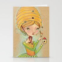 The Only Bee In My Bonne… Stationery Cards