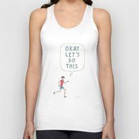 Okay Let's Do This Unisex Tank Top