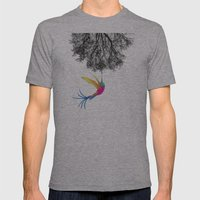 Untitled Mens Fitted Tee Athletic Grey SMALL