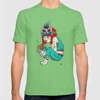 Voodoo magic Mens Fitted Tee Grass SMALL