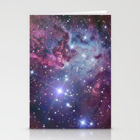 Nebula Galaxy Stationery Card
