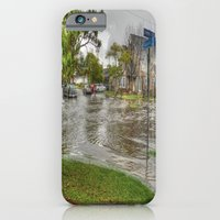 iPhone & iPod Case featuring Flooded Streets by Christine Workman