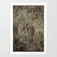 ballroom Art Print