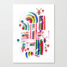 Twolips Canvas Print