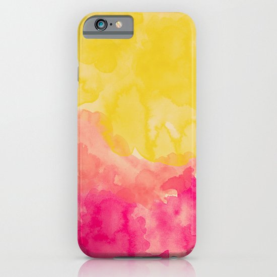 Swimming In Flowers iPhone & iPod Case