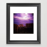 Beauty In Baltimore Framed Art Print