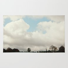 clouds and trees Rug