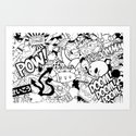 So what's on your mind? Art Print
