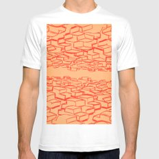 Cars SMALL White Mens Fitted Tee