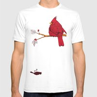 Cardinal Sin Mens Fitted Tee White SMALL