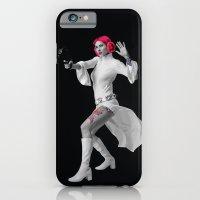 iPhone & iPod Case featuring Princess Leia Strikes Back by Natasha Alexandra Englehardt