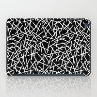 Kerplunk Black and White Repeat #2 iPad Case
