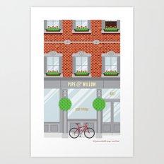 Pinwhistle Way Faccade Art Print
