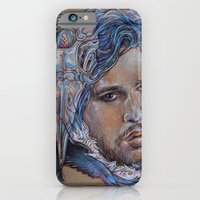 iPhone & iPod Case featuring Jon Snow by Anna-Lise