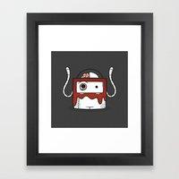 Eeek..! Framed Art Print