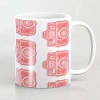 I Still Shoot Film Holga Logo - Red Mug