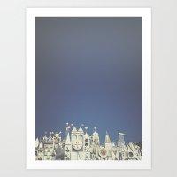 Small World Art Print