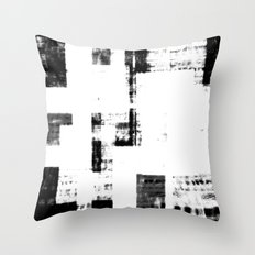 Black & White Abstract Series ~ 4 Throw Pillow