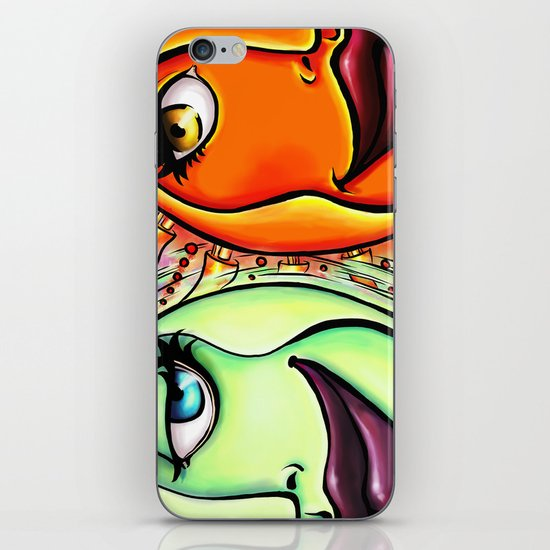 Moon & Sun iPhone & iPod Skin