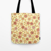 Candy Apple Blossom Tote Bag