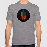 Doctor Who III Mens Fitted Tee Tri-Grey SMALL