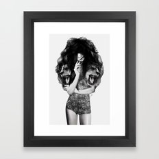 Lion #1 Framed Art Print