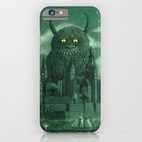 moon iPhone & iPod Cases featuring Age of the Giants  by Terry Fan