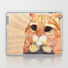Puss In Boots. Laptop & iPad Skin
