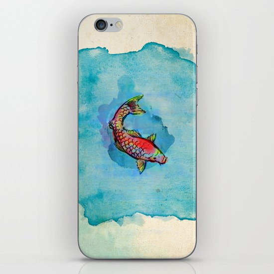 Small Fish. Small Pond. iPhone & iPod Skin