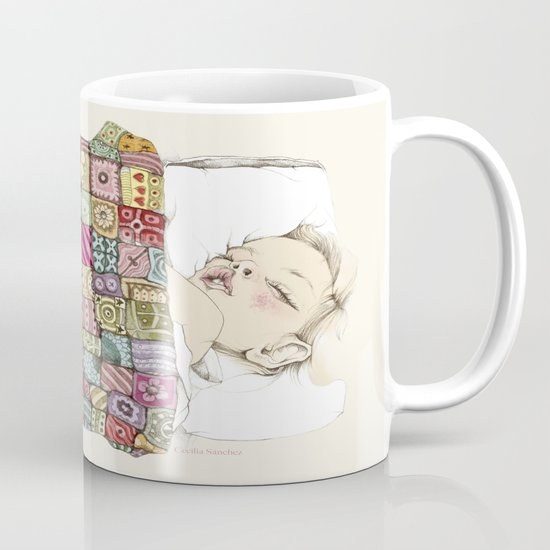 sleeping child Mug