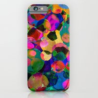 iPhone Cases featuring Rainbow Spot by Amy Sia