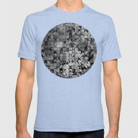Fly Me To The Moon Mens Fitted Tee Tri-Blue SMALL