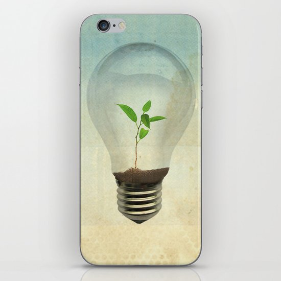 green ideas iPhone & iPod Skin