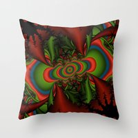 Psychedelic Seizure Throw Pillow