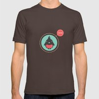 Love Bird Mens Fitted Tee Brown SMALL