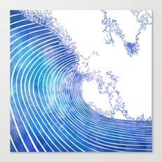 Pacific Waves III Canvas Print