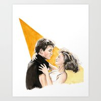 Nobody Puts Baby In A Co… Art Print