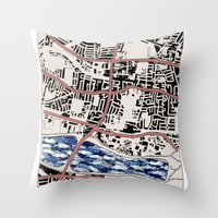 Lacking in Depth Throw Pillow