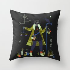 Witch Series: Potions Throw Pillow