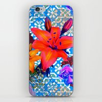 Old Flowers iPhone & iPod Skin