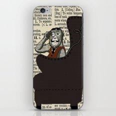 Detective Monkey iPhone & iPod Skin