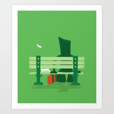 Forrest Gumby Art Print