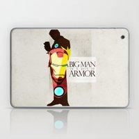 Suit of Armor : Iron Man Laptop & iPad Skin
