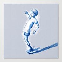 Rider I Canvas Print